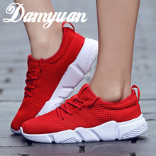2019 Damyuan New Fashion Men's Casual Running Sport Shoes Man Breathable Flats Sneaker Lovers Canvas Walking Casual Lovers Shoes