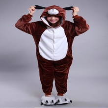 Kigurumi cartoon dog pyjamas kawaii anime hoodie pajamas Cosplay adult jumpsuit Christmas Halloween Party Costumes