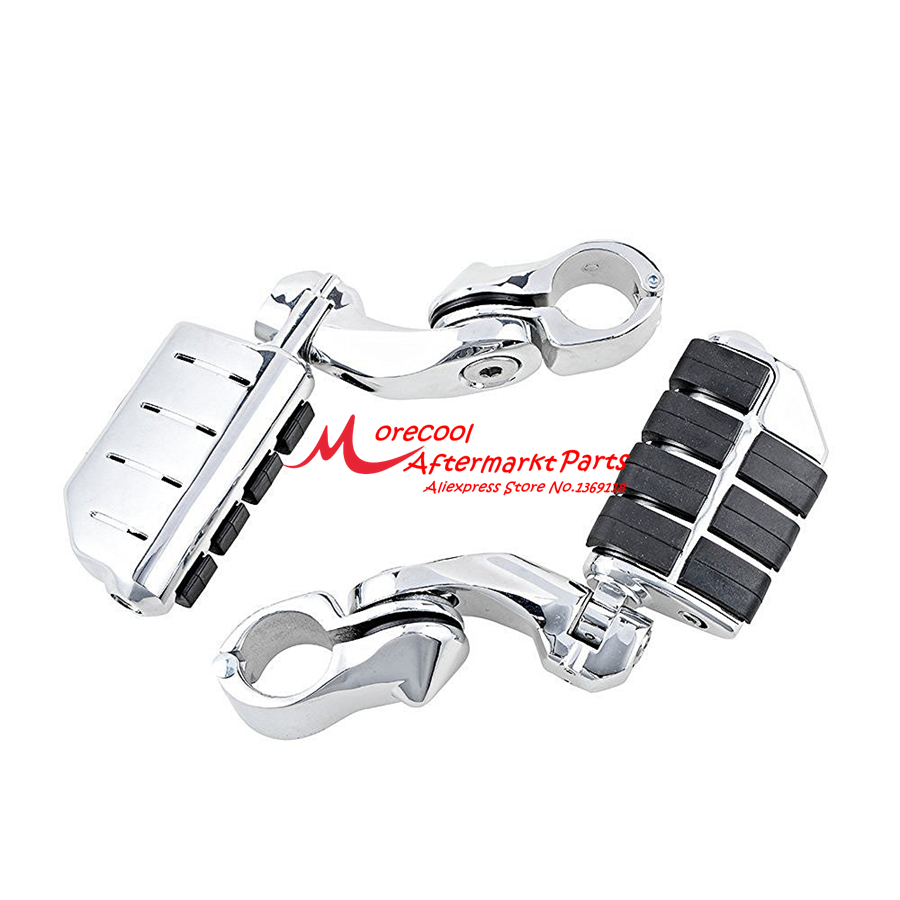 Motorcycles highway Footpeg Foot Pegs for Electra Road King Street Glide 1.25 Bars king ring street album no 1