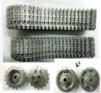Henglong 3869 3869 1 1 16 RC Tank Upgrade Parts Metal Track Metal Driving Wheels Full