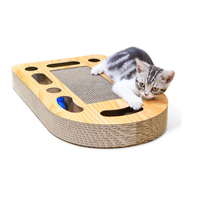 Cat Scratch Pad Toys Interactive Game Ball Scratch Cardboard For Kittens Cat Toy Scratching Pet Products Balls Toy NZC10