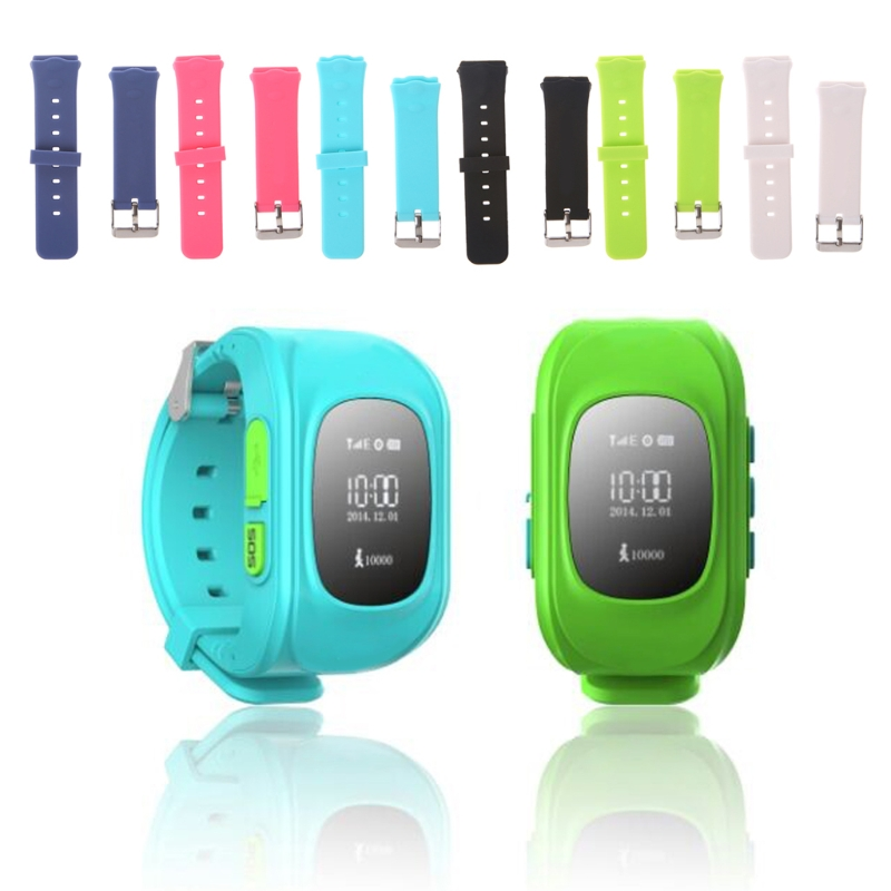 6 Color Smart Locator Tracker Watch Replacement Band For Children Wrist Strap For Q50 Y3 Kids Smart Wearable Accessories