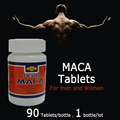 (45g/bottle) 100% herbal MACA root tablets for men sex, better improvement MACA Peru for male and women