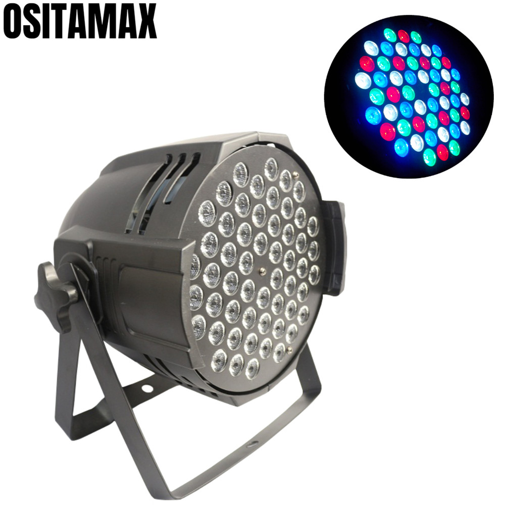 54PCS 3W LED Par Wash Light RGBW Professoinal Stage Lighting Par Can Light for Disco DJ Party Club54PCS 3W LED Par Wash Light RGBW Professoinal Stage Lighting Par Can Light for Disco DJ Party Club