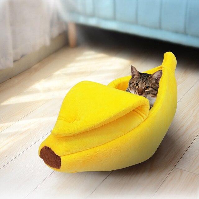 Lit Banane pour chat  3