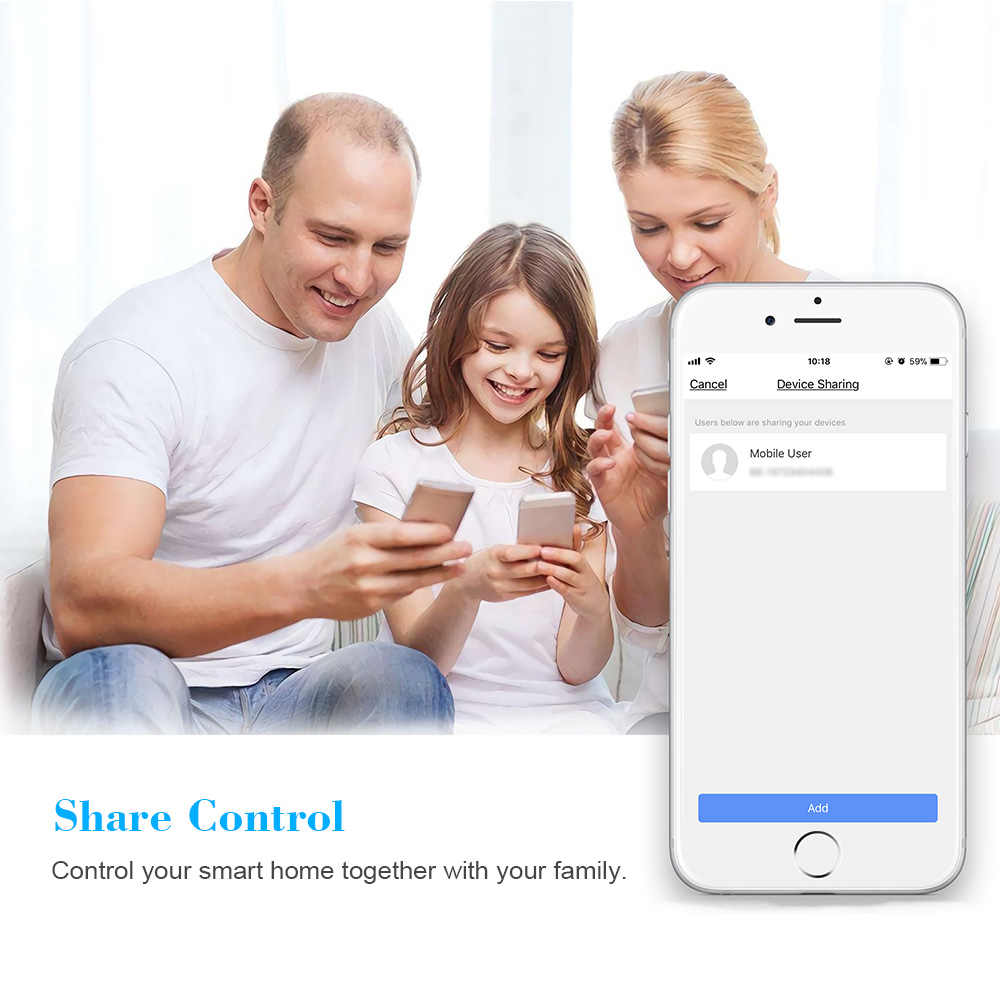 2 Pcs Mini Wifi Smart Plug with On/Off Switch Control Timing Function Voice  Control for Amazon Alexa for Home/IFTTT For TP-Link