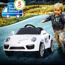 Uenjoy Kids Ride on Cars 6v Battery Power Electric Vehicles with Wheels Suspension,Music,Remote Control,Headlights and Horn