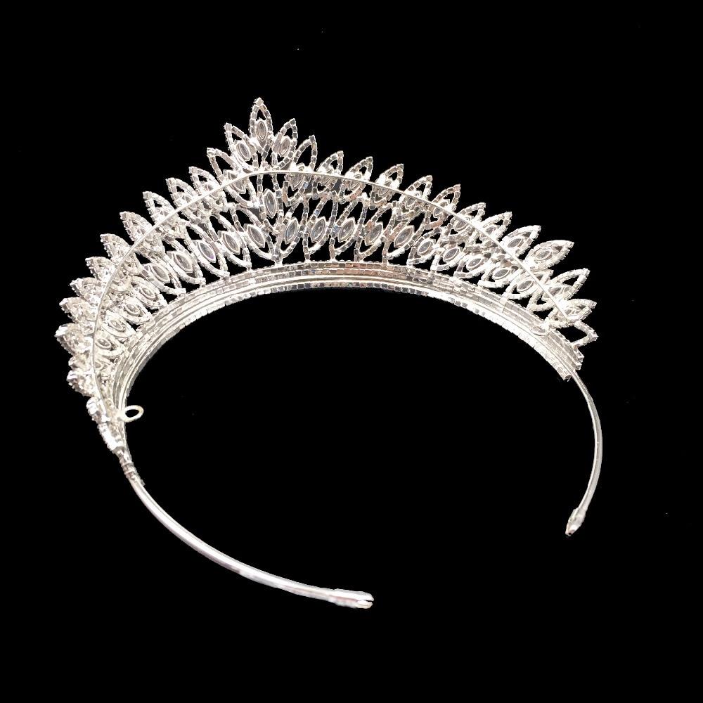 Image 5 - Crown Headband Classic Luxury Geometric Design Wedding Hair  Accessories Elegant For Women High Quality BC3103 Corona Princesabridal  tiara crowntiara crownfashion crown
