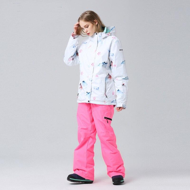 Équipement de sport de plein air divertissement vêtements de sport accessoires snowboard costume coupe-vent imperméable garder au chaud respirant