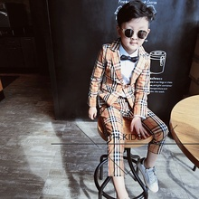 New Style Kid Party Graduation Suit Wedding Page Boy Tuxedos Custom Made 2 Piece tpu page 2