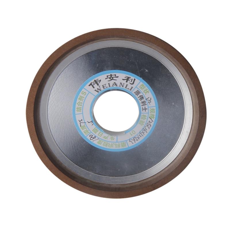 "6/"" Resin Diamond Grinding Wheel Disc for Carbide Metal Grinder 180//240//320 Grit"