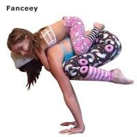 2017 Brand New Yoga Pants Kid Girl Women Family Stretch Gym Clothes Running Sport Legging Fitness