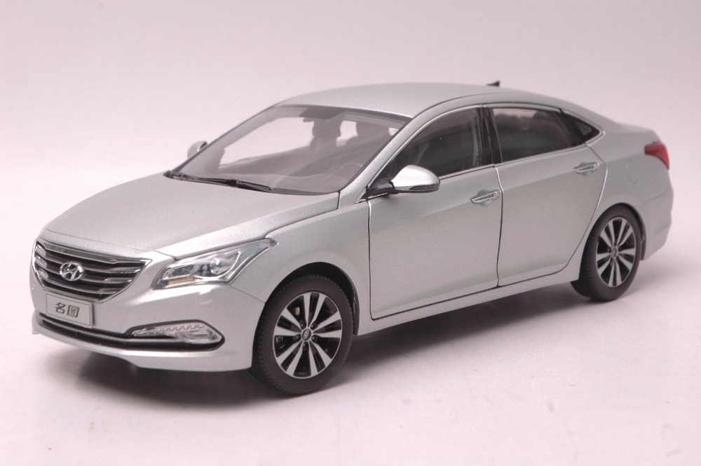 1:18 Diecast Model for Hyundai Mistra Silver Alloy Toy Car Miniature Collection Sonata цена 2017