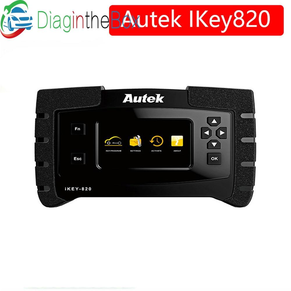 New Original Autek IKey820 Key Programmer Universal Professional Tool Car Auto Scanner Key Programmer Read Immobilizer Pin Codes