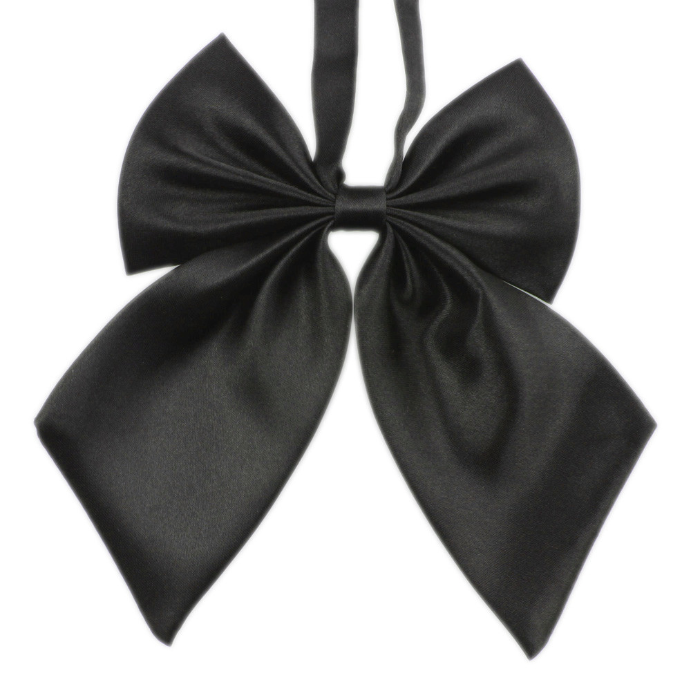 Tie Necktie Fashion Unique Womens Girls Novelty BIG Bow Tie Wedding Gift Female student school uniform bow Drop Shipping 3j29