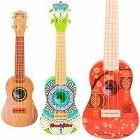 Children learn guitar toys retro ukulele beginner musical toys