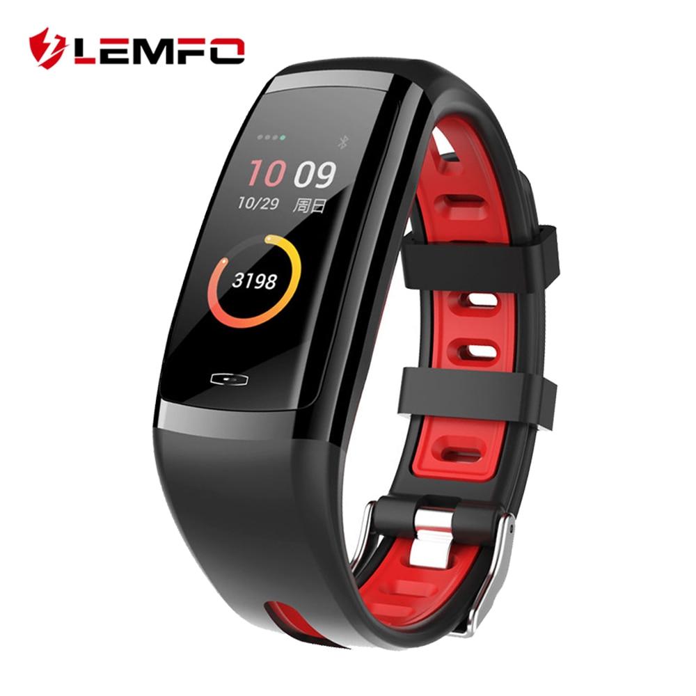 LEMFO New Healthy Smart Band Blood Pressure And Heart Rate IP67 Waterproof Bracelet Sport Watch Fitness Tracker For Men Women