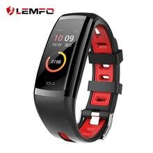 LEMFO новый Здоровый Smart группа крови Давление и сердечного ритма IP67 Водонепроницаемый браслет спортивные часы Фитнес трекер для Для мужчин Для женщин