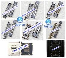 2 компл./лот = 16 шт. FPC разъемы для iPhone 6 S 4.7 «сенсорный ЖК-мощность-станции объем батареи SIM logicboard разъем