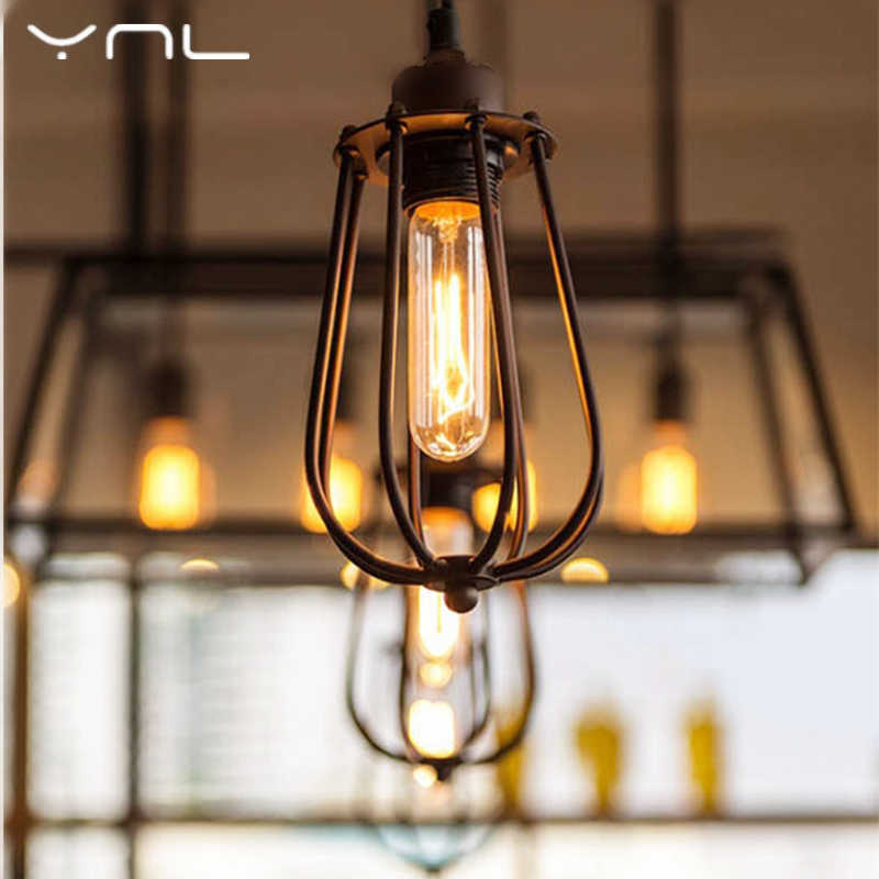 American Style Bedside Antique Wall Lamp Single-Head E27 Lights Bulb Glass Industrial Iron Vintage Fashion Living Room Bar Lamp