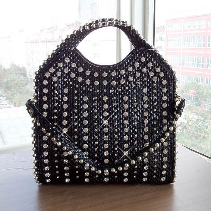 2020 novos diamantes mulheres bolsa de couro