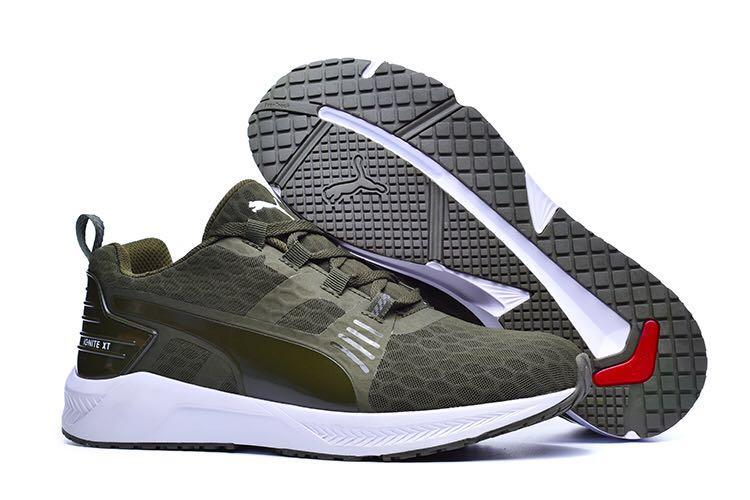 Original New Arrival PUMA Mens Ignite XT V2 Cross-Trainer Shoes 188987 Womens shoes Breathable Badminton Shoes Size 36-45