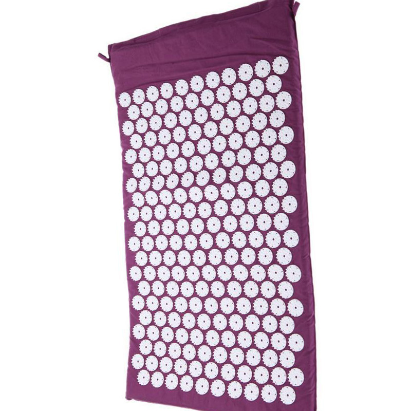 ФОТО Massager cushion Acupressure Mat Relieve Stress Pain Acupuncture Spike Yoga Mat