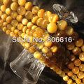 Природный Желтый, Тигровый Глаз Камень Бисера Оголенные полудрагоценных Бусы Камень Ювелирные
