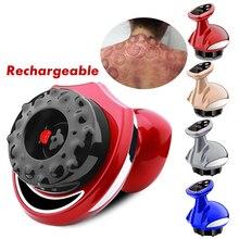 Masajeador eléctrico de succión al vacío, masajeador de succión al vacío con imán para terapia de raspado, gusha, estimulador de acupuntura, adelgazamiento corporal, recargable