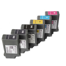6 Packs PFI-102 Compatible ink cartridges for Canon ipf 500 510 600 605 700 710 720 iPF655 iPF650 iPF755 iPF750 printer PFI 102