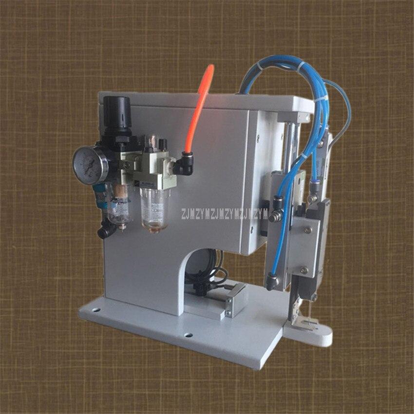 220 V 60 W Machine à relier les agrafes en plastique pour relier l'étiquette de carte sur la serviette chaussettes agrafeuse de tissu Attacher la Machine outil d'étiquetage de vêtement