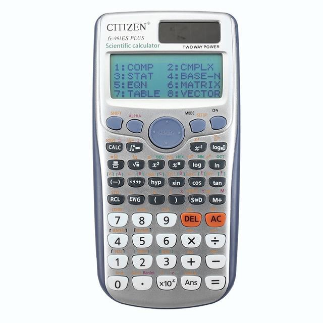 Yunai 991es Plus Handheld Student S Scientific Calculator Led Display Pocket Functions For Teaching Students