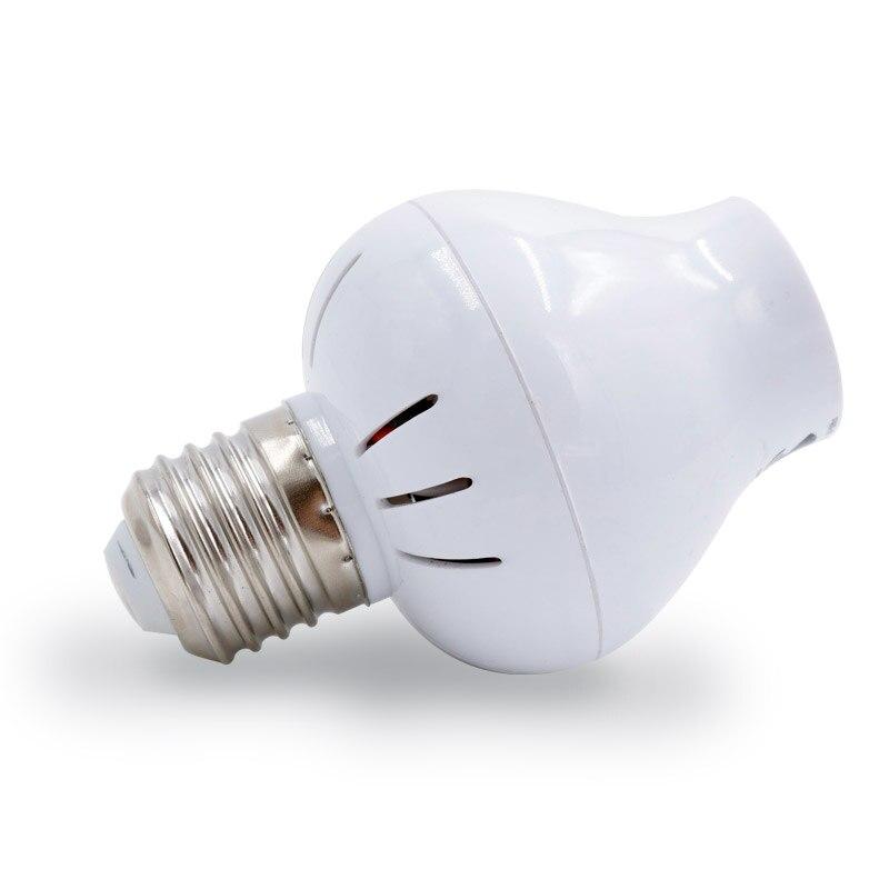 MingBen] Induktion Radar bewegungsmelder LED lampensockel Halter E27 ...
