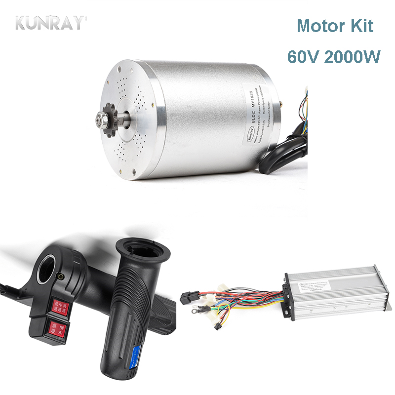 60V 2500W DC Brushless Motor For Electric Scooter With 18Mosfet 41A BLDC Motor Controller Universal Throttle electrica bicicleta 60v 2500w electric motor brushless controller 18 mosfet 41a electric scooter bike motorcycle e tricycle controller part kit