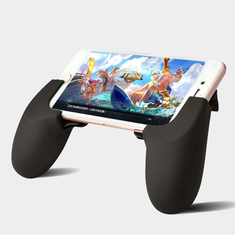 Drop Shipping Smart Phone Gamepad Gaming Handle Holder For PUBG Game For iPhone For Samsung For Xiaomi 80427