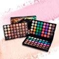 120 cores popfeel cosméticos da sombra de olho em pó paleta da sombra de maquiagem nude matte natural beleza duradoura maquiagem