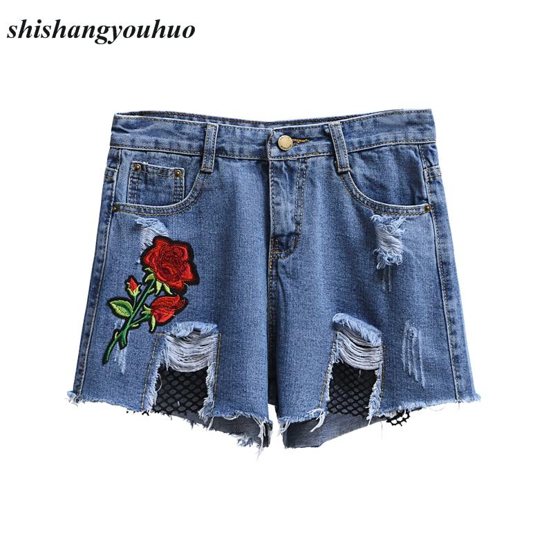 Online Get Cheap Patterned Denim Shorts -Aliexpress.com | Alibaba ...