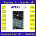 Hot Selling 1000 user RFID Door Controller Password Keypad Access Control ID Card keyboard System E6