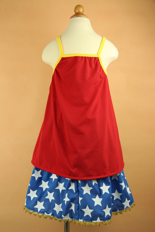 Wonder Woman Party Dress for Girls
