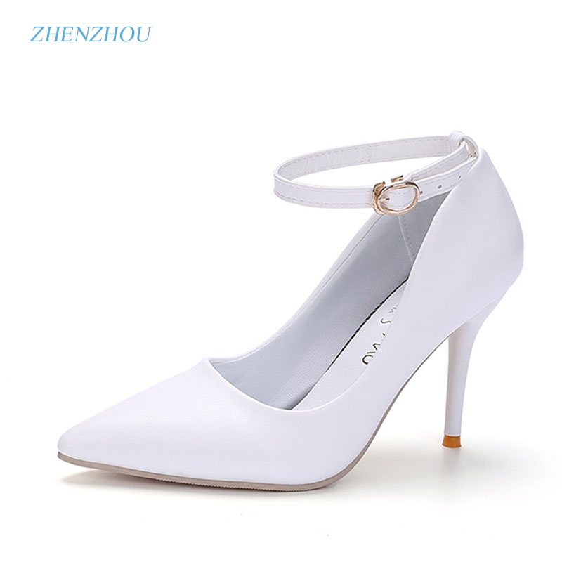 zhen zhou 2017 spring and autumn women's new fashion trend leadership Sexy heels Night club Light mouth single shoes Fine point dominic mulenga mukuka christian leadership and management