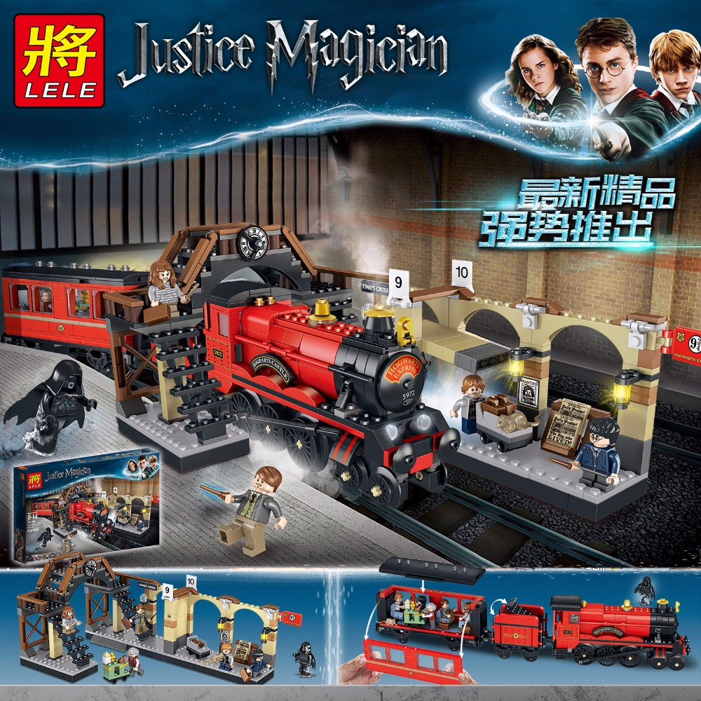 Harry Potter Train Trip 836pcs Compatibie Building Blocks Kit Toy DIY Educational Children Gifts