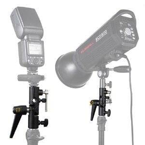 Image 2 - Selens Flash Shoe Paraplu Houder Light Stand Beugel M11 050 Voor Fotografische Foto Studio