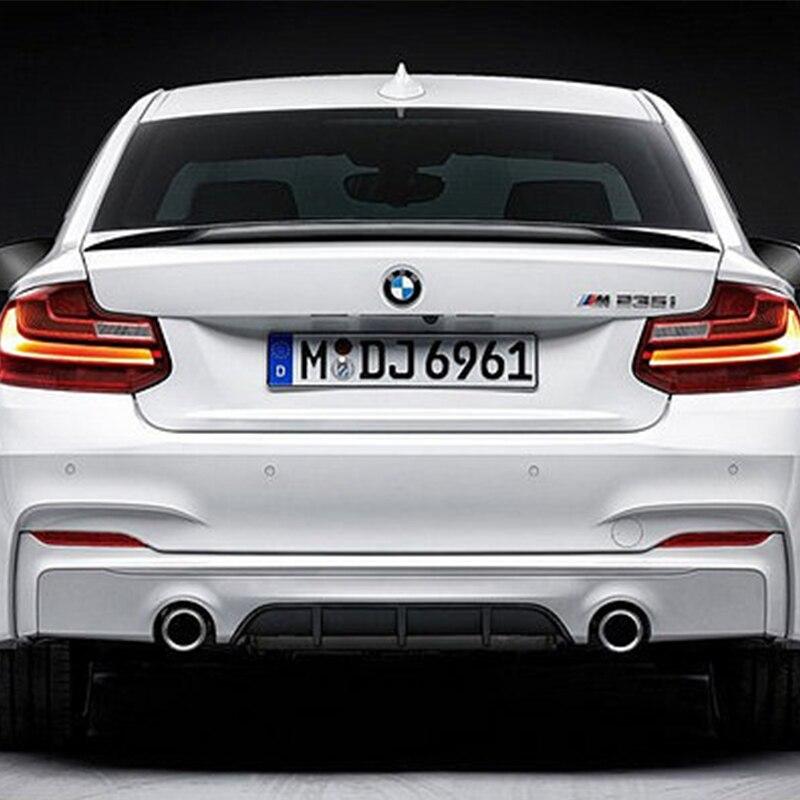 F22 F23 изменение производительность Стиль углерода Волокно задний багажник Чемодан отделение спойлер автомобиль крыло для BMW F22 F23 2014 2015 2016