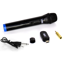 Professional Karaoke Wireless Microphone 3.5mm 6.35mm Jack 2 in 1 Mini USB Receiver For Speech Speaker Megaphone Church Lectures