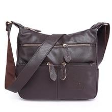 2017 mode Frauen Messenger Bags COMPOSITE-ECHTES LEDER frauen Handtasche Frauen Tasche Vintage Damen Tote Crossbody Umhängetasche