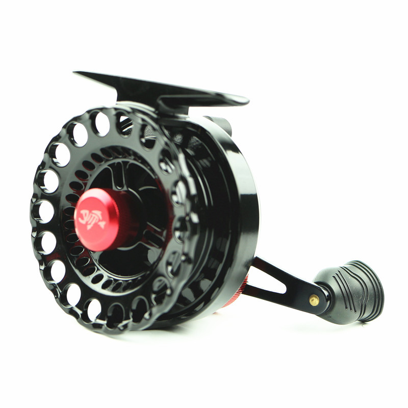 Hot Sale Fishing Reel Fish line Wheel  Black Red  plastic Left Right Bait Casting Fly Fishing Wheel Fake Bait Fresh Salt Water стоимость