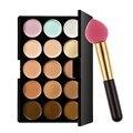 15 Color Concealer Palette Make up Set Professional Contour Palette Makeup Face Cream Concealer Palette Sponge Puff Powder Puff