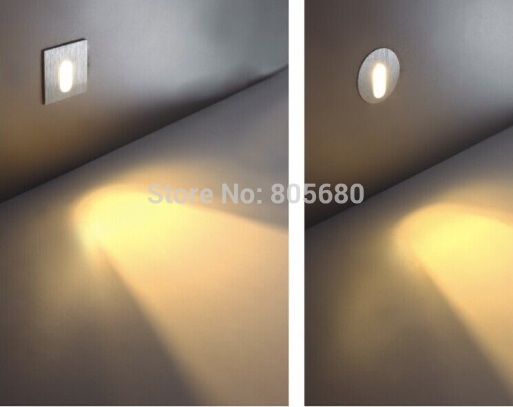 Lights & Lighting Nice Free Shipping 5pcs/lot 1w Led Holding-down Led Lamp Step Led Stairs Ladder Light/led Wall Light 2years Warranty 110-120lm Led Indoor Wall Lamps