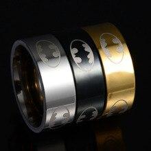 Titanium Batman Ring