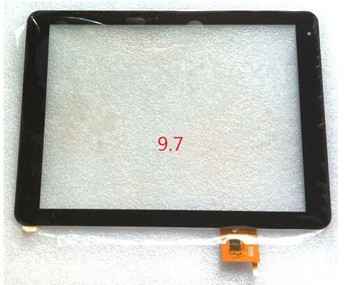 все цены на  9.7inch for TeXet TM 9757 9758 9767 tablet pc capacitive touch screen glass digitizer panel cable code PB97A8592-R2  онлайн